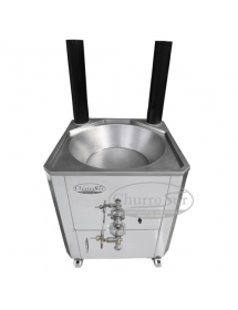 70×70 & 80×80 professional gas fryer for fair-goers