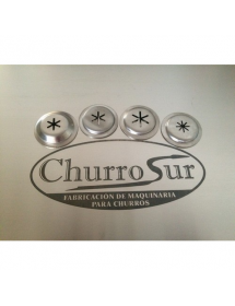 Churro mould simple star