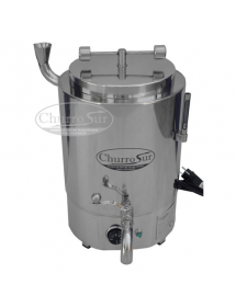 Manual chocolate maker machine with mechanic thermostat (CE)